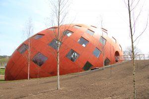 Het Rijkspaviljoen is een ontwerp van 2D3D Design uit Den Haag en heeft iconische kwaliteiten.