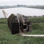 RAAAF doorgezaagde bunker