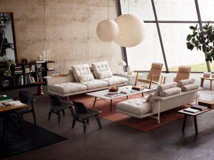 Grand sofa, Antonio Citterio voor Vitra.