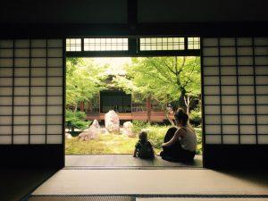 Kenninji tempel, Kyoto, Japan.