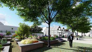 Tuin verbindt gezamelijke (her)inrichting en beheer van voortuinen, onderdeel van Stadslab Nijmegen, door Lentekracht