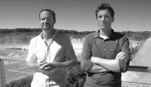 Christopher de Vries en David Rademacher werken sinds 2014 samen.