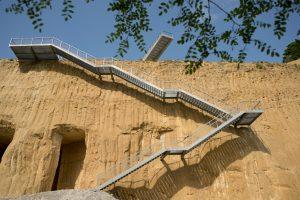 observatieplatform en trap ENCI groeve Maastricht