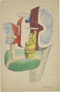Le Corbusier, Étude pour sculpture