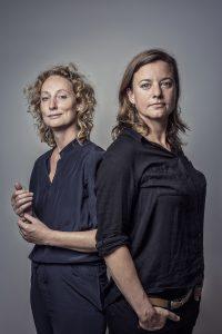 Lonny van Ryswyck en Nadine Sterk