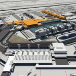 Nieuwe terminal Schiphol