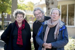 Sis, Maarten en Vincent Van Rossem. Foto: NTR