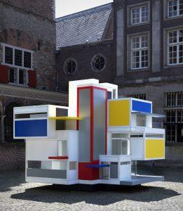 Prototype Maison d'Artiste  door studenten TU Delft