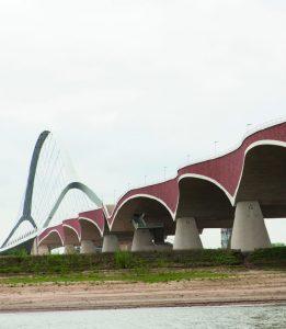 Waalbocht bij Nijmegen