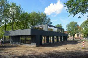 exterieur Van Eesteren Paviljoen Amsterdam augustus 2017