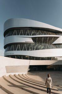 Mercedes-Benz museum in Stuttgart, UN Studio