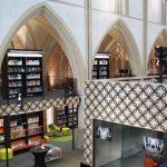 bibliotheek in kerk Zutphen