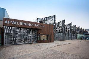 Entree afvalbrengstation den Haag. Foto: Jacqueline Knudsen