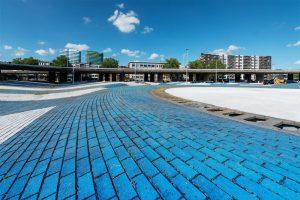 Fotograaf Marjon Gemmeke photoshopte haar foto's van de Blauwe Golven
