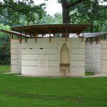 Herdenking paviljoen begraafplaats Daelwijck Utrecht Meulendijks