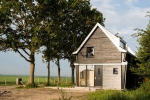 FortKIJK Fortwachterswoning, ontwerp Piet Hein Eek. Foto Aart Jan van Mossel