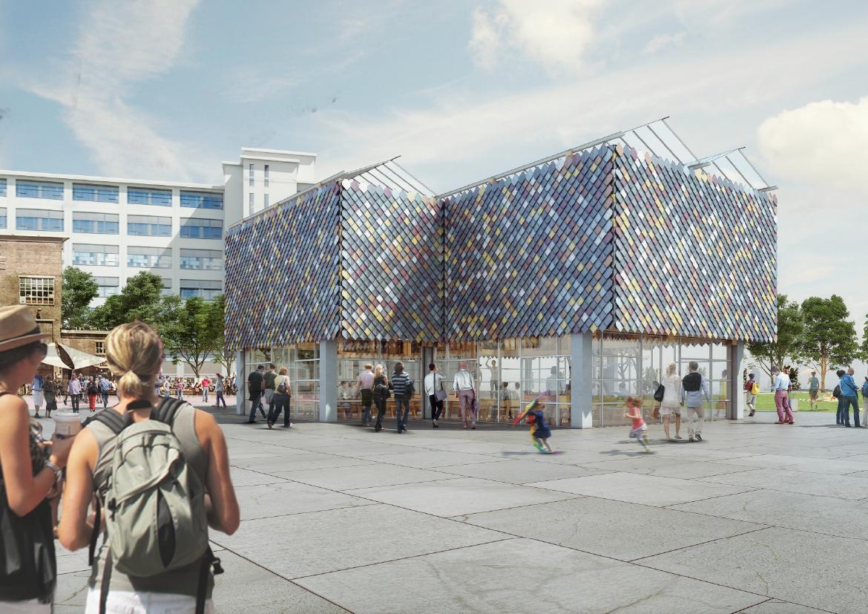 Geleende Materialen In People S Pavilion Architectuur Nl