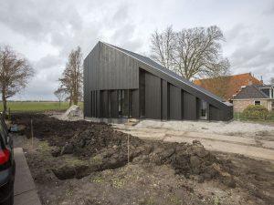 Erkerhuis Offingawier. 2017, architect Onix • Foto Peter de Kan