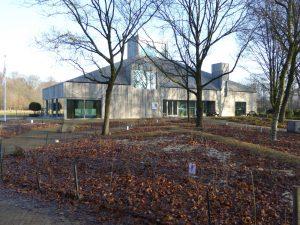 Natuurschuur het Groene Huis, Centrum voor Natuur en Milieu Educatie op het landgoed Schothorst in Amersfoort. 2016, architect Onix • Foto Jacqueline Knudsen