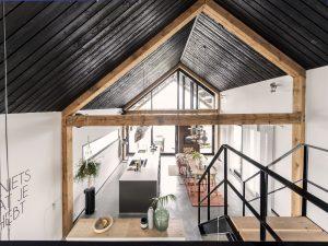 Woonwerkschuur Heechstaete, ontwerp interieur Sissy-boy • Foto To Huidekoper.