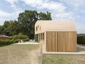 Erkerhuis Midlaren. 2017, architect Onix • Foto Peter de Kan.
