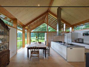 Villa op landgoed Sterkenburg in de bossen van Driebergen. Architect DP6 architectuurstudio • Foto's Michel Kievits