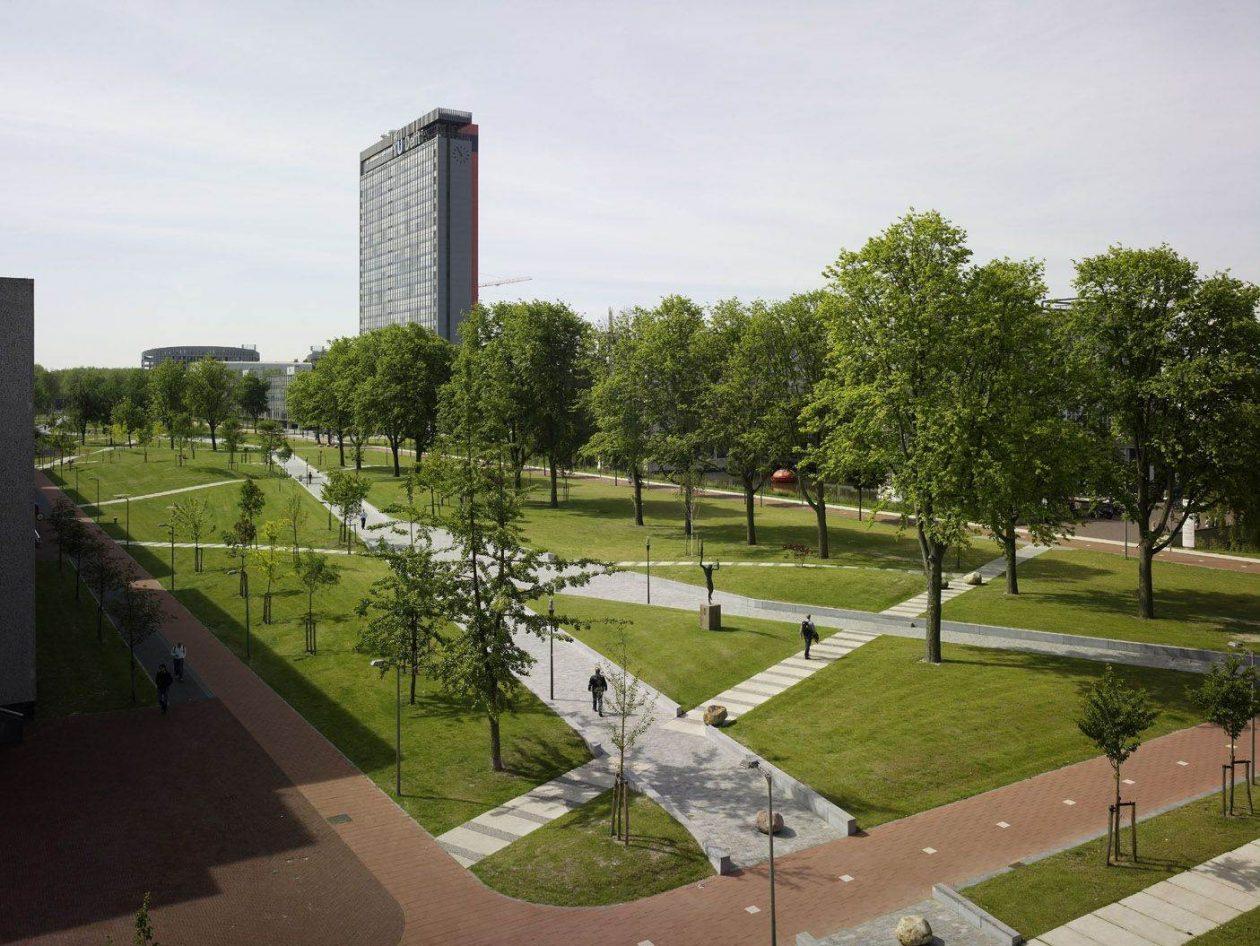 Historisch Overzicht Campus TU Delft Architectuurnl