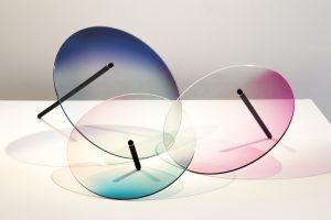 Colour Wheels: een serie kleurrijk glaswerk