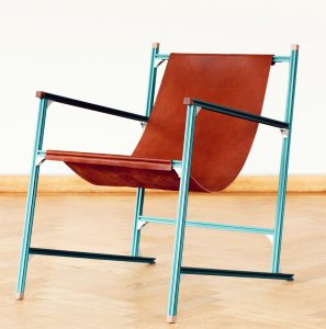 Aluminium Club Chair Rick Tegelaar_Foto Masha Bakker
