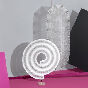 Experimenten met Colback van Low & Bonar – gepresenteerd tijdens de DDW 2017 tijdens de expositie In4Nite • Foto Lonneke van der Palen.