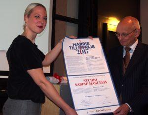 Sabine Marcelis Harrie Tillieprijs 2017