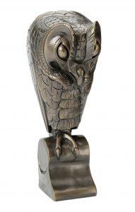 Uil, 1912. Brons, Joseph Mendes da Costa, Collectie Joods Historisch Museum.