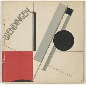 Wendingen 1921 omslagontwerp El Lissitzky