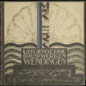 Wendingen 1924 omslagontwerp Tine Baanders