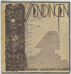 Wendingen 2-1918 omslagontwerp De Klerk