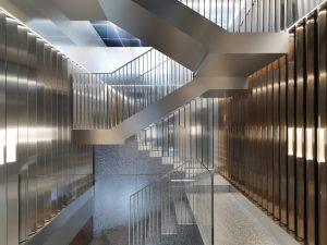 Interieur Repossi Paris, ontwerp Sabine Marcelis i.s.m. OMA