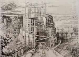 Carlijn Kingma Babylonische Toren van de Moderniteit 2017