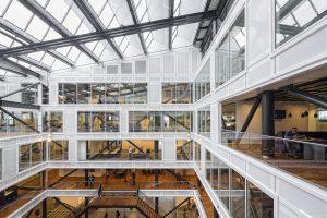 Kantoor Sociale Zaken Groningen. MVSA Architects