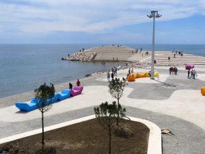 Waterfront Durrës, i.s.m. Cityförster, gerealiseerd in 2015.