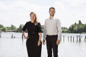 Na meer dan 12 jaar te hebben gewerkt voor gerenommeerde landschapsarchitectenbureaus richtten Philomene van der Vliet en Jan Maas in 2012 BOOM Landscape op • Foto Hillie de Rooij.