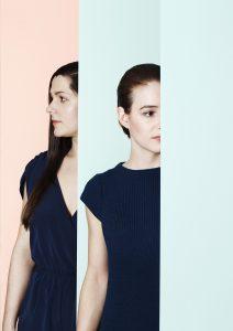 Eefiene Bolhuis en Eva Gevaert vormen samen de Intuïtiefabriek. Foto Sabrina Bongiovanni.