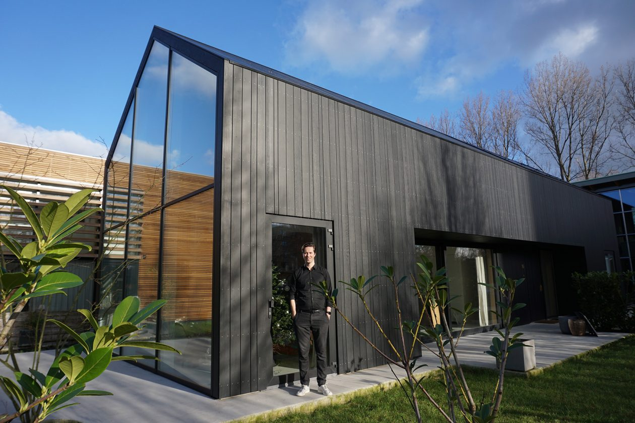 eigen huis architect stefan prins in rotterdam