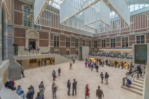 Rijksmuseum Amsterdam, nieuwe entreehal door Cruz y Ortiz Arquitectos • Foto John Lewis Marshall