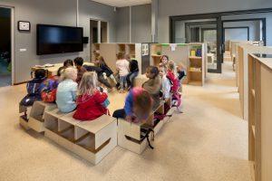 De meubellijn Elementary is geënt op sociale interactie.