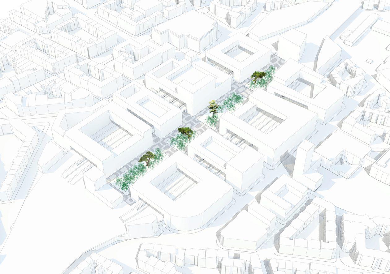 Stadsentree Düsseldorf Door Franca Houg Architectuurnl