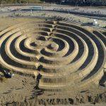 Zandkunstwerk Ringen aan zee