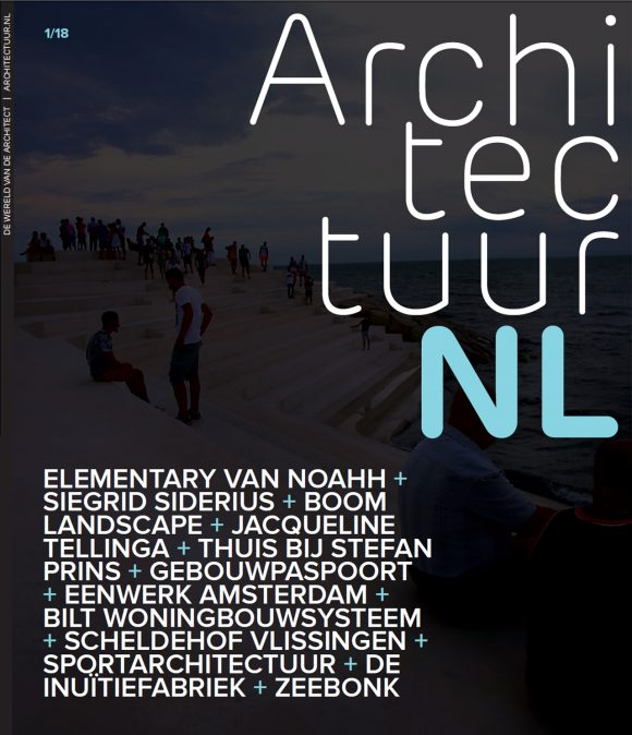 magazine ArchitectuurNL 2018