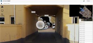 Gebouwpaspoort is gemaakt met digitale scans