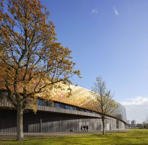 Sportcampus Zuiderpark FaulknerBrowns-Fotograaf: HuftonCrow