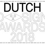 Inschrijving Dutch Design Awads 2018